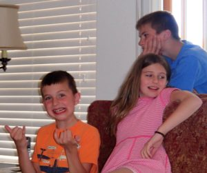 Carter, Taylor and Evan